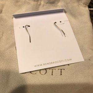 Kendra Scott Jewelry - Kendra Scott Alex Gold Earrings In Black
